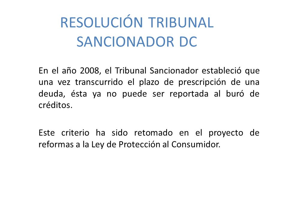 RESOLUCIÓN TRIBUNAL SANCIONADOR DC
