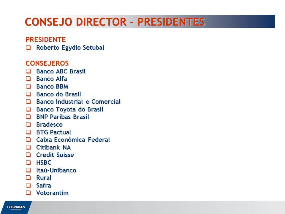 CONSEJO DIRECTOR - PRESIDENTES