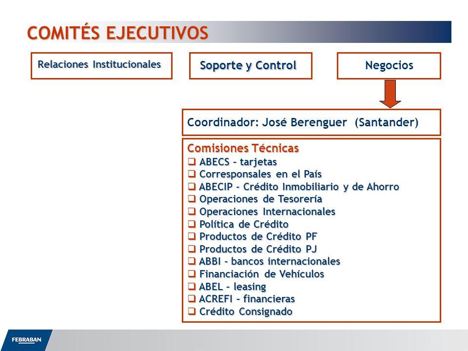 COMITÉS EJECUTIVOS Soporte y Control Negocios