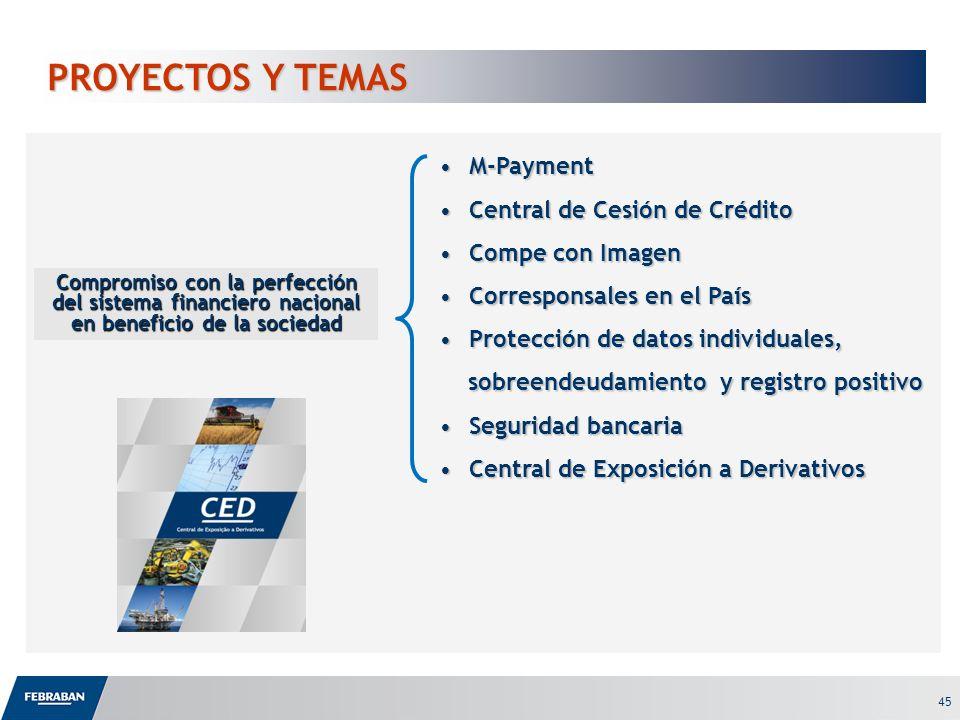 PROYECTOS Y TEMAS M-Payment Central de Cesión de Crédito