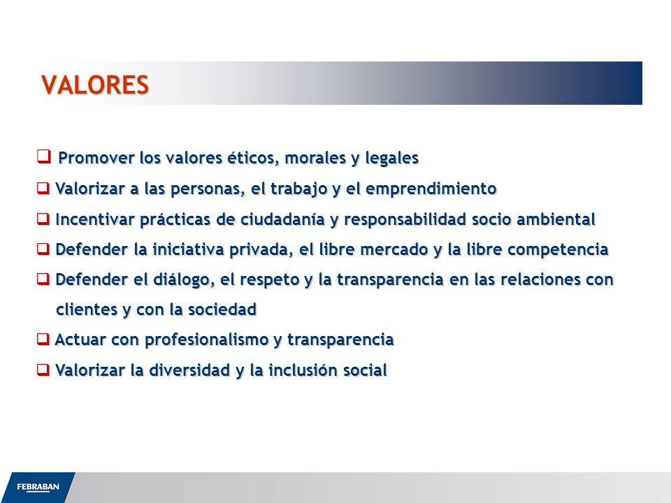 VALORES Promover los valores éticos, morales y legales