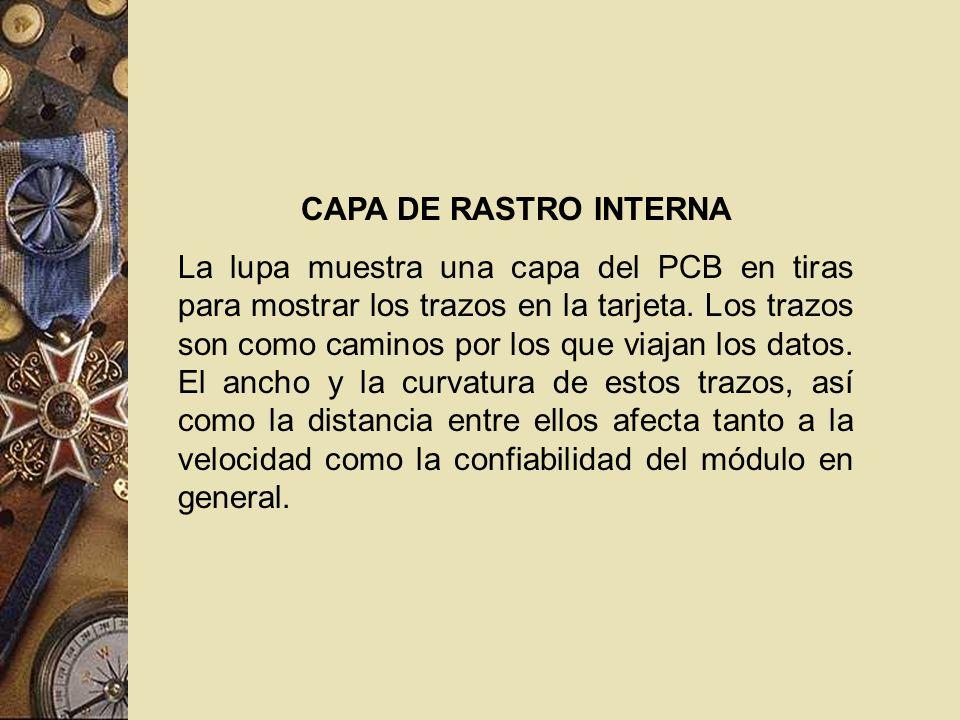 CAPA DE RASTRO INTERNA