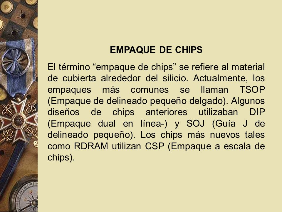 EMPAQUE DE CHIPS