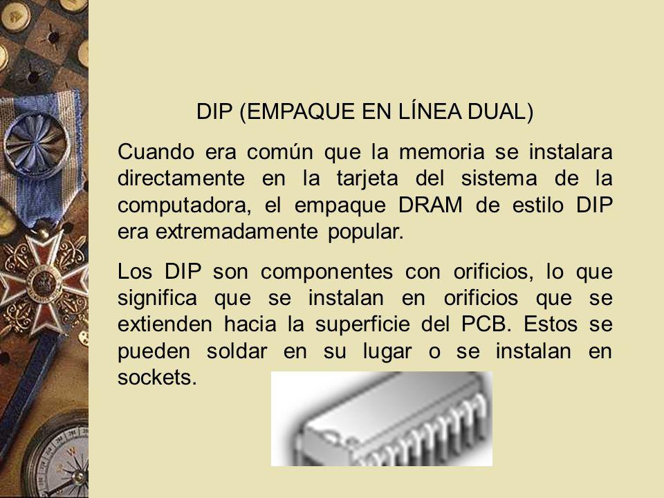 DIP (EMPAQUE EN LÍNEA DUAL)