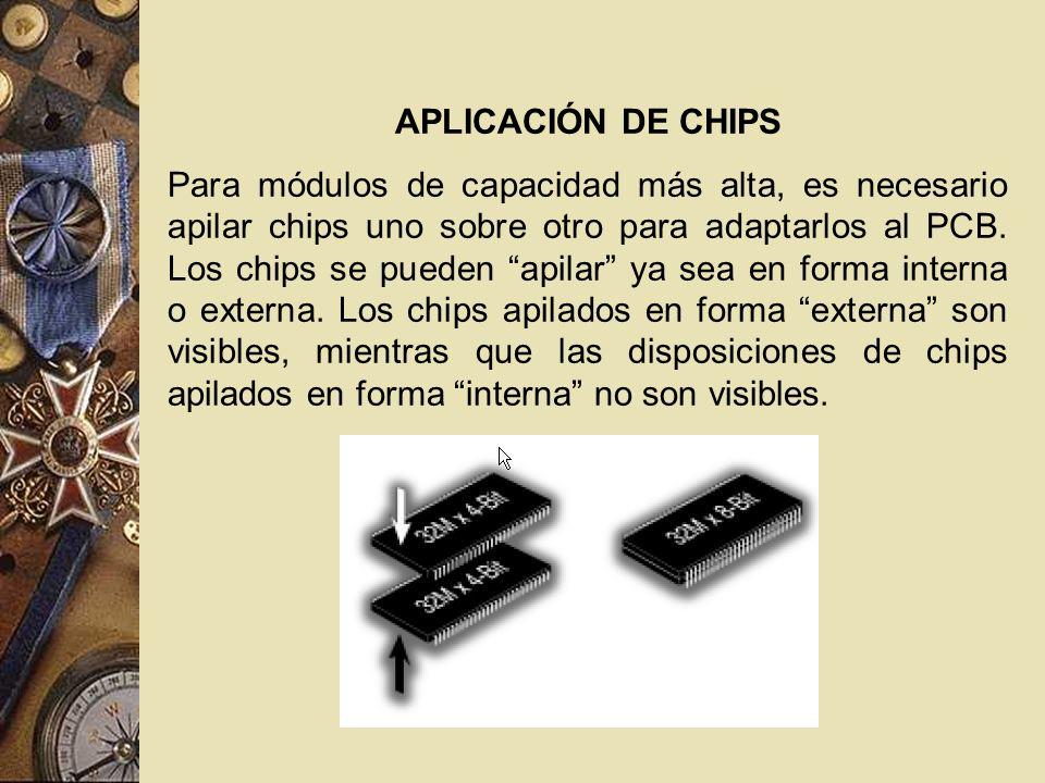 APLICACIÓN DE CHIPS