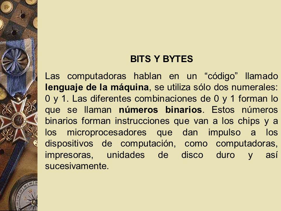 BITS Y BYTES