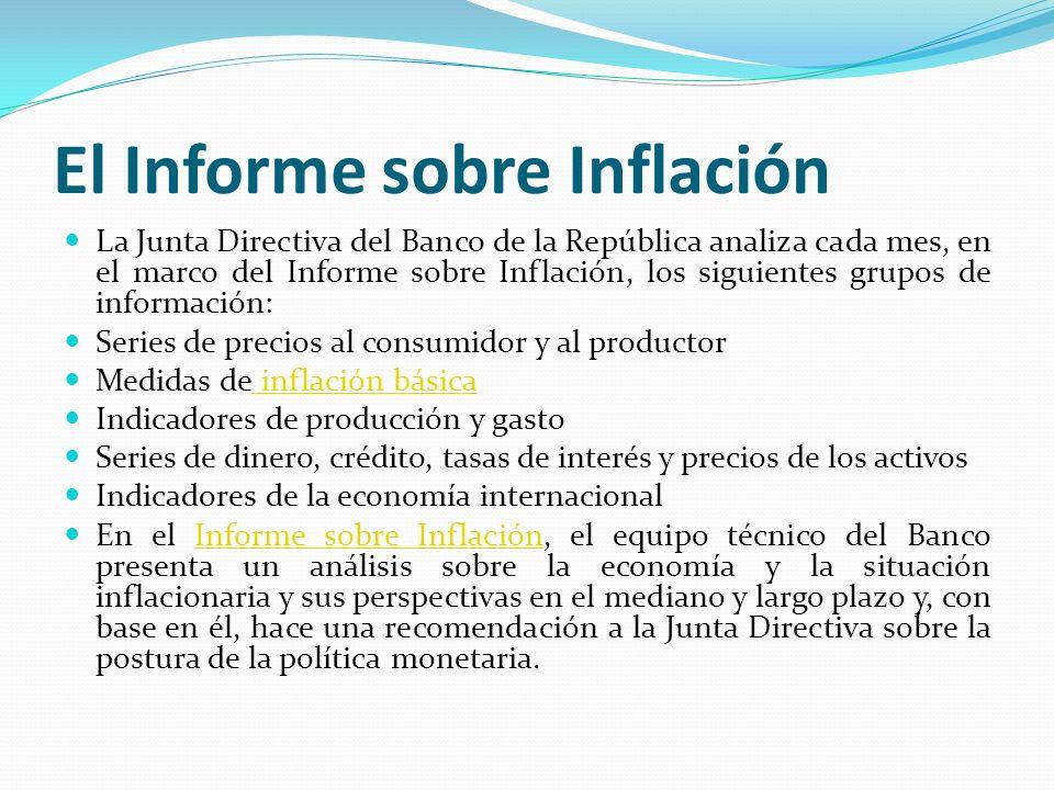 El Informe sobre Inflación