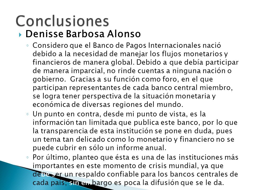 Conclusiones Denisse Barbosa Alonso