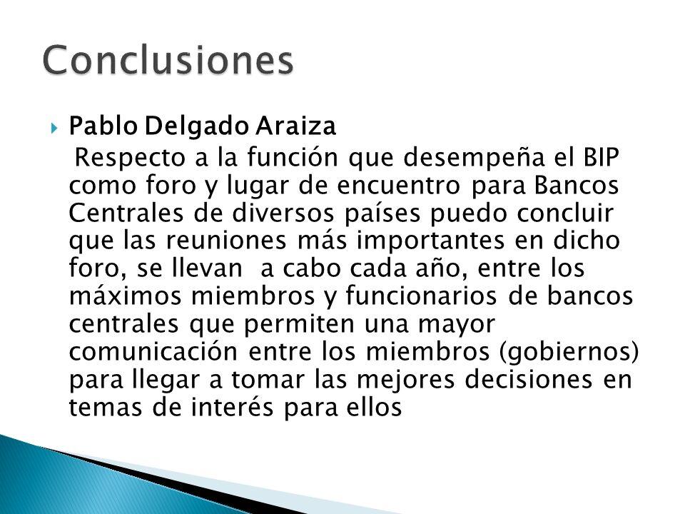 Conclusiones Pablo Delgado Araiza