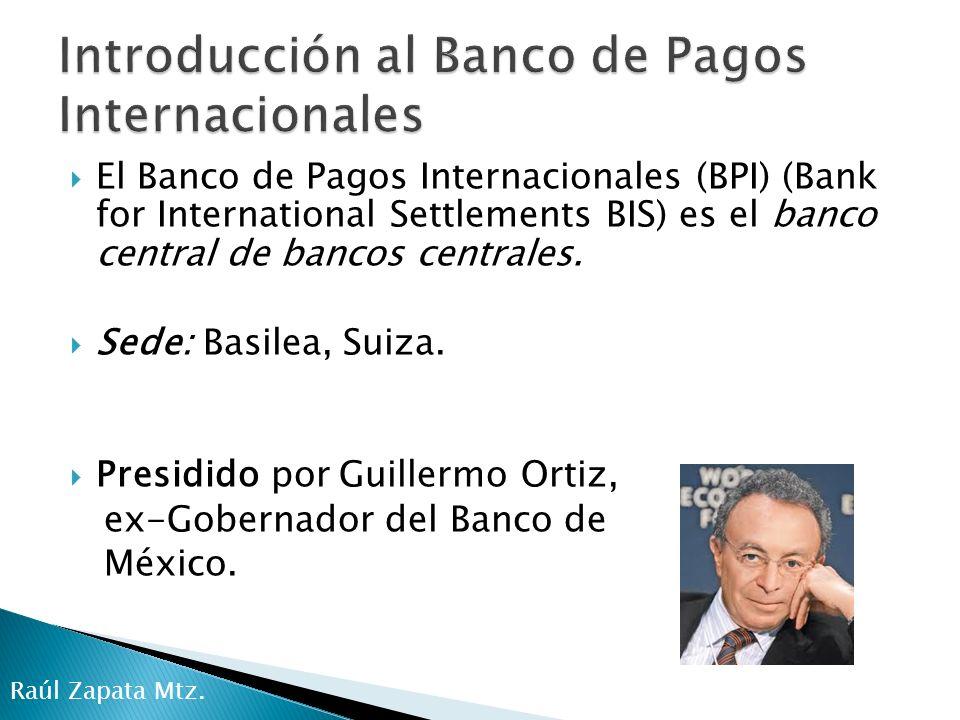 Introducción al Banco de Pagos Internacionales