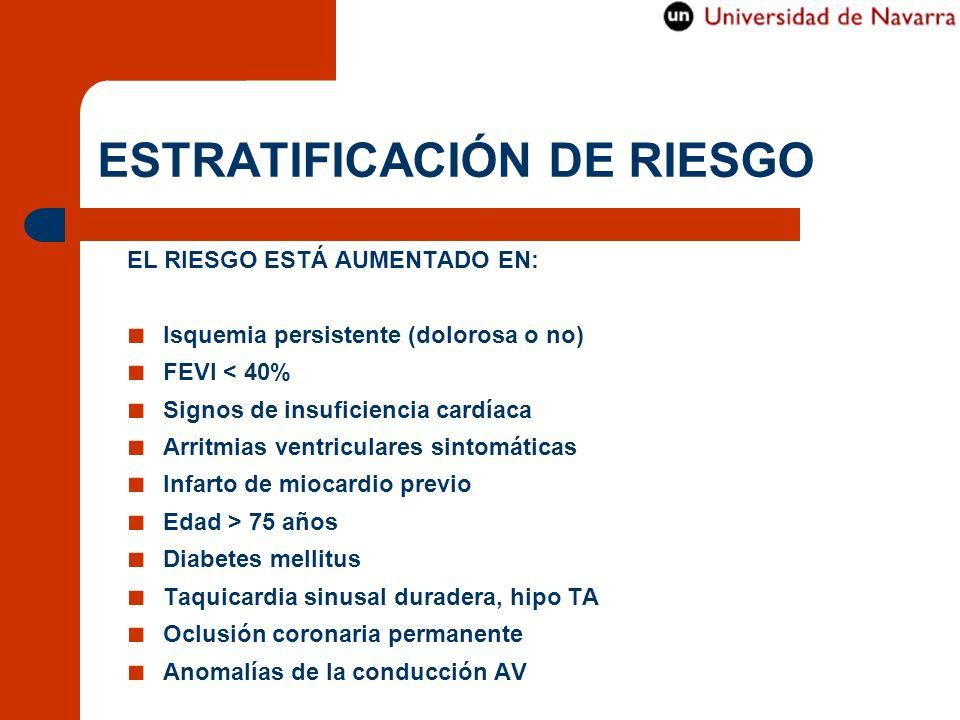 ESTRATIFICACIÓN DE RIESGO