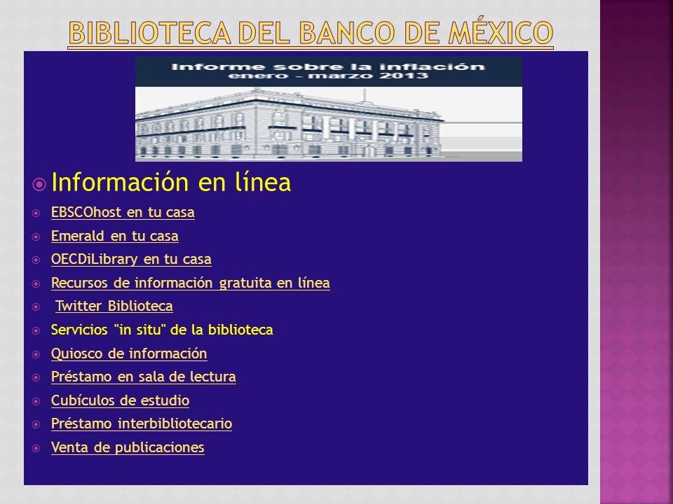 Biblioteca del Banco de México