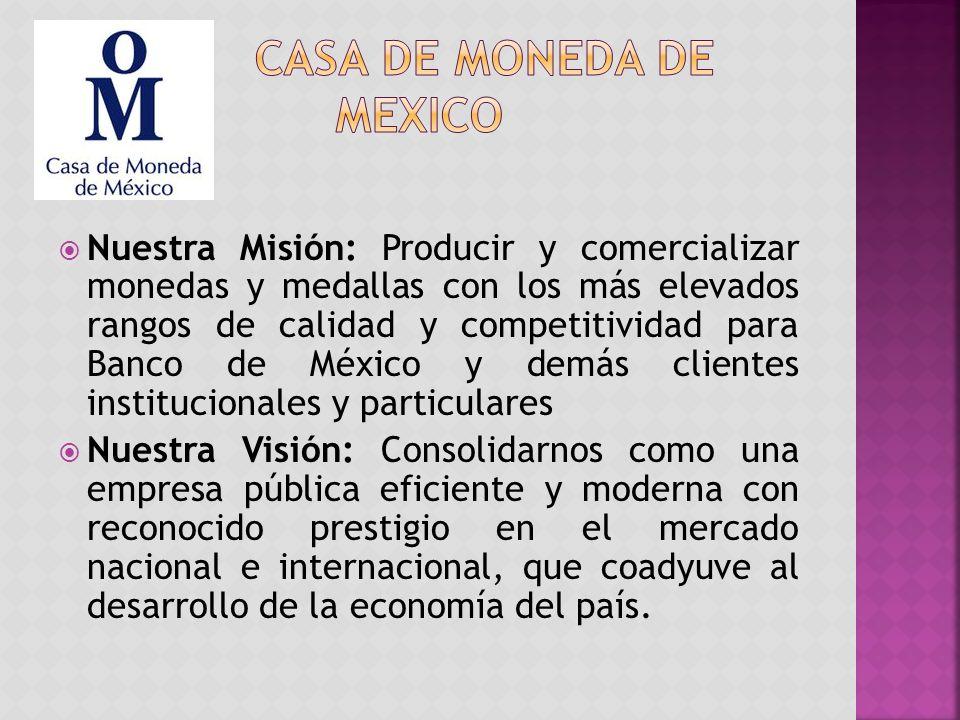 Casa de moneda de mexico
