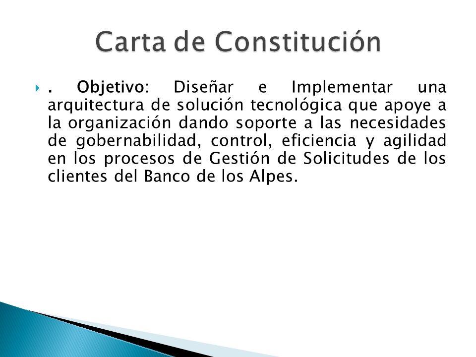 Carta de Constitución