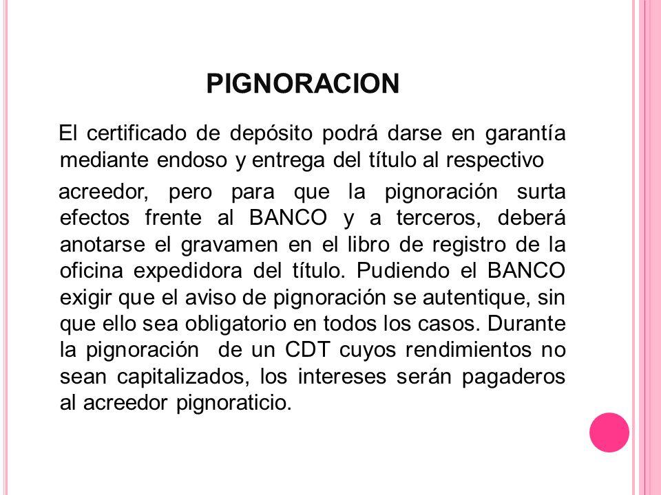 PIGNORACION