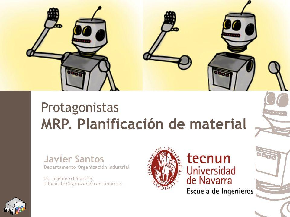 MRP. Planificación de material