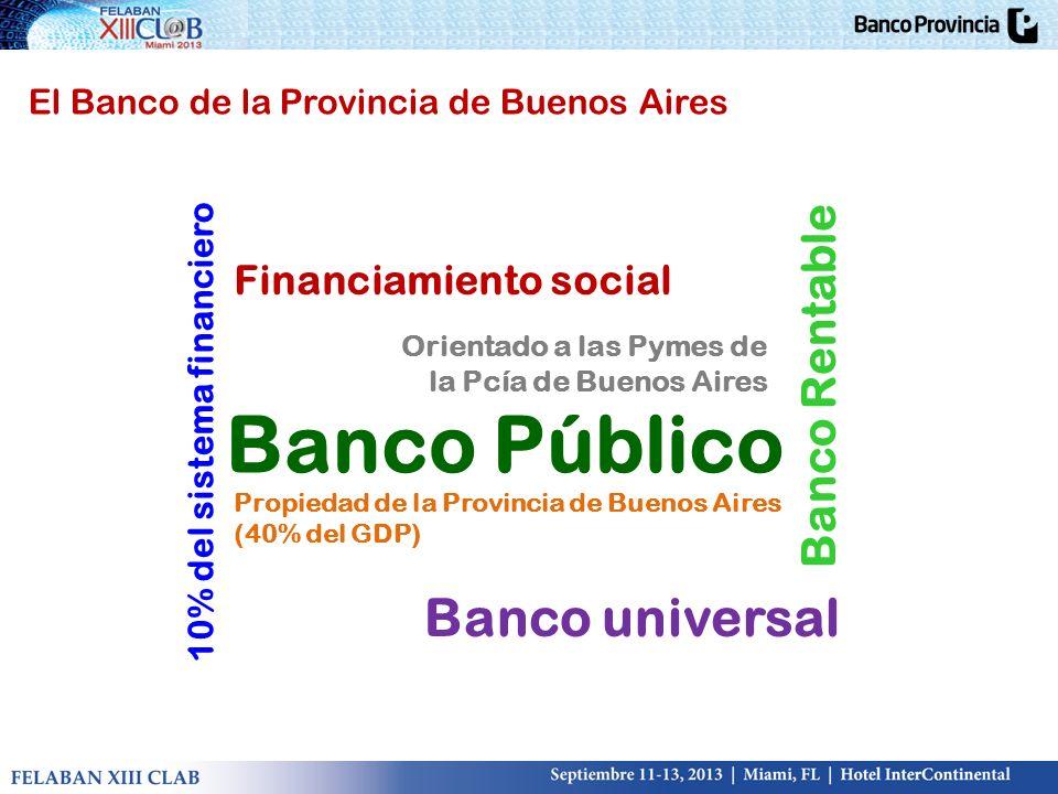 Banco Público Banco universal Banco Rentable Financiamiento social
