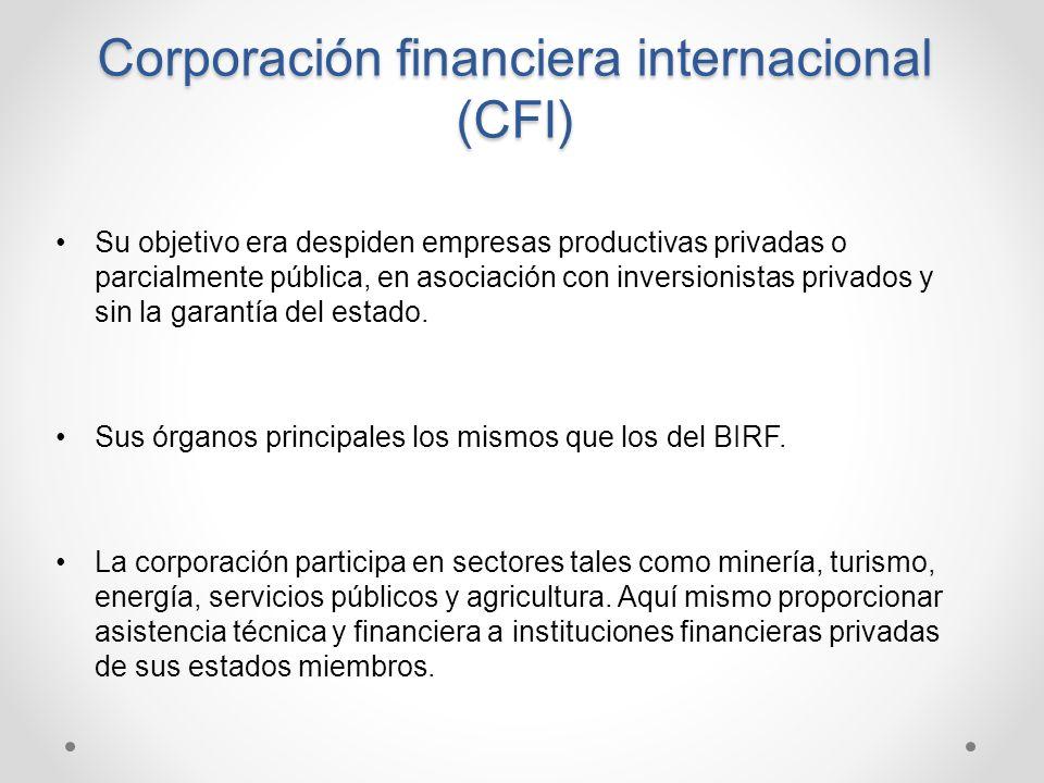 Corporación financiera internacional (CFI)