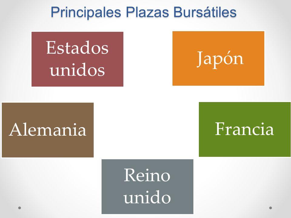 Principales Plazas Bursátiles