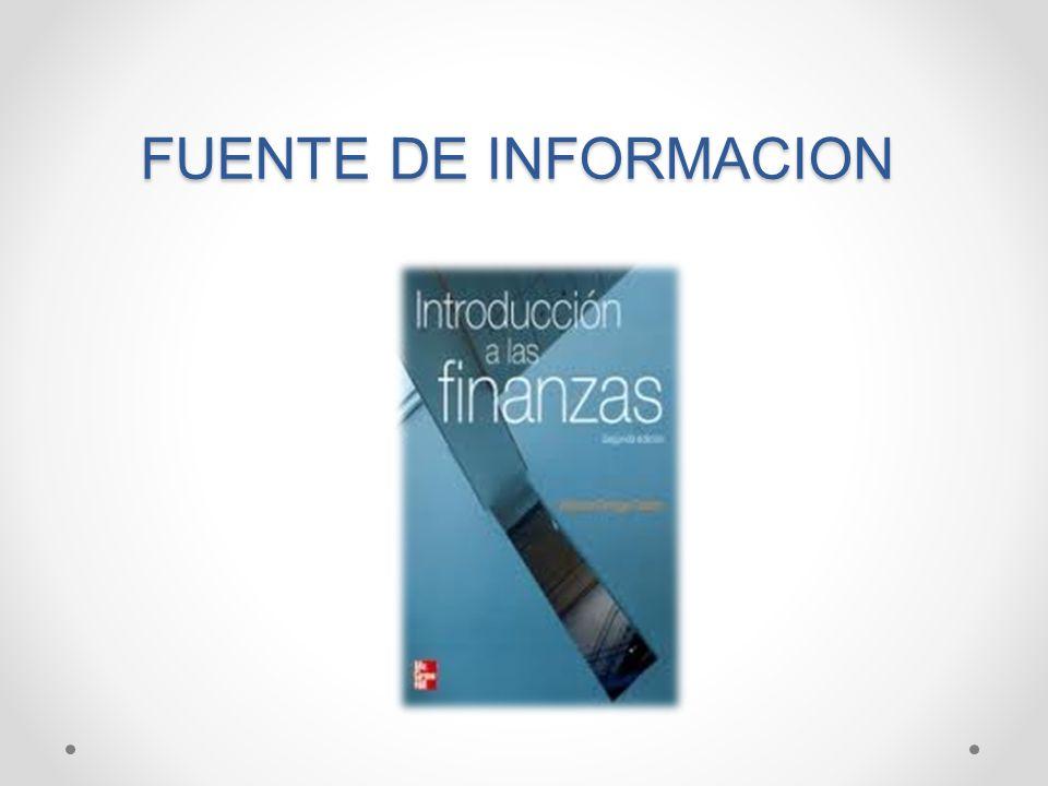 FUENTE DE INFORMACION