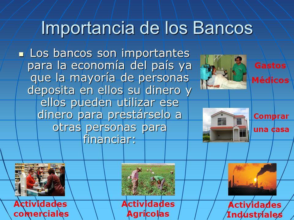 Importancia de los Bancos