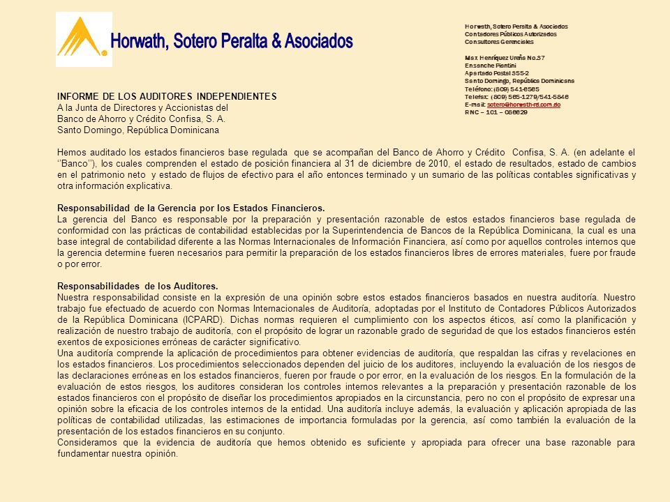 Horwath, Sotero Peralta & Asociados