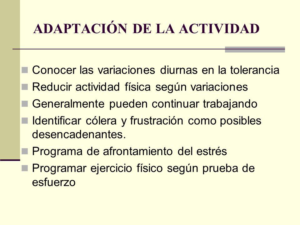 ADAPTACIÓN DE LA ACTIVIDAD
