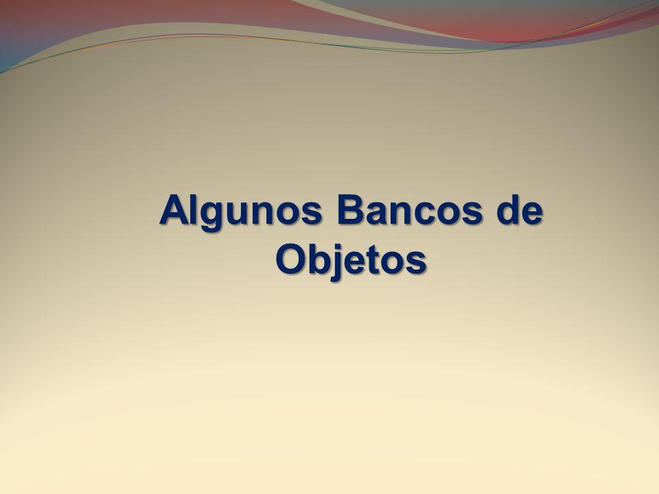 Algunos Bancos de Objetos