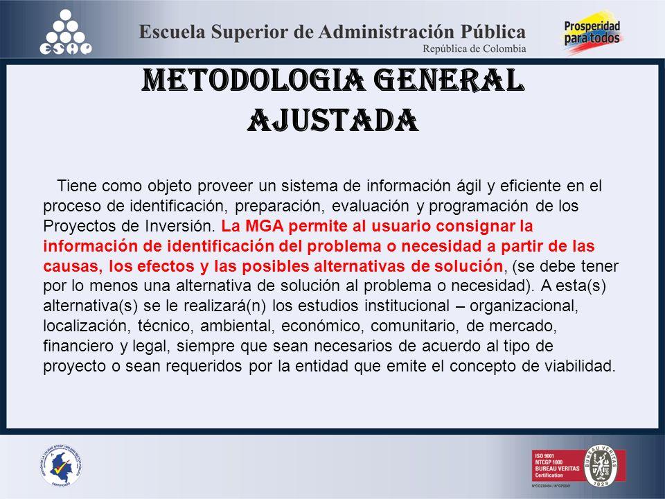 METODOLOGIA GENERAL AJUSTADA