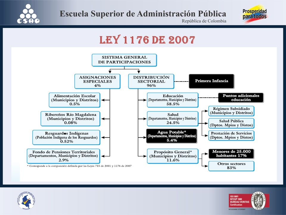 LEY 1176 DE 2007