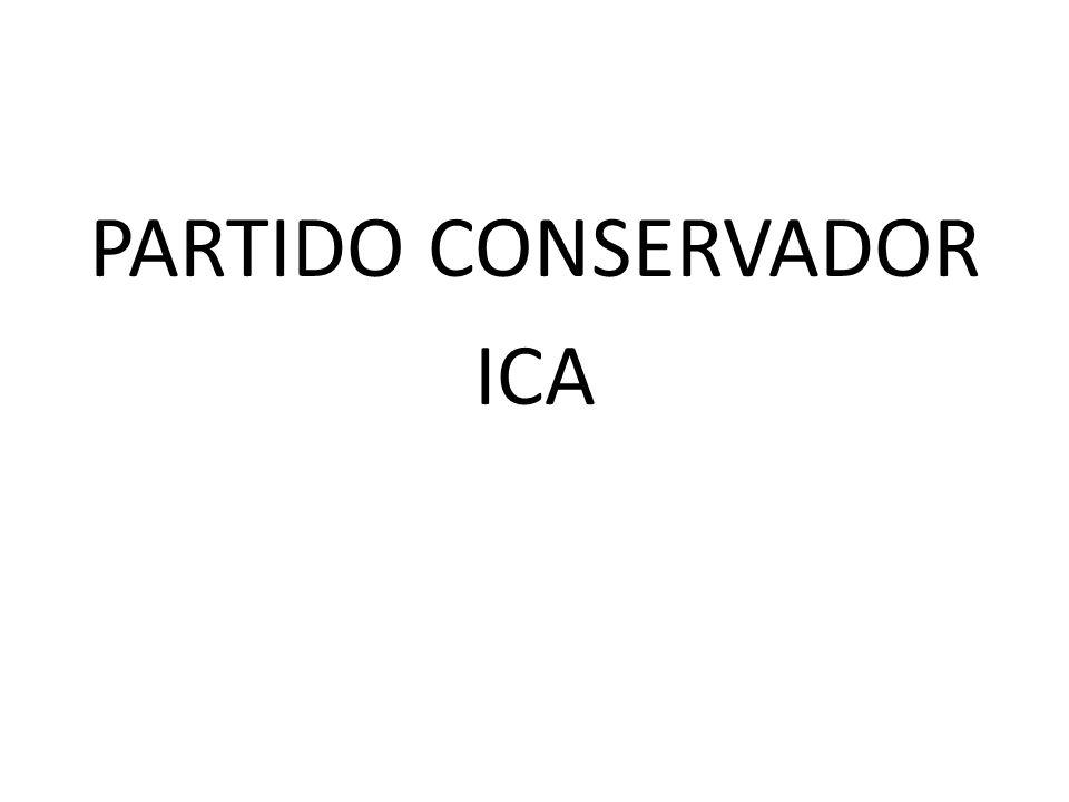 PARTIDO CONSERVADOR ICA