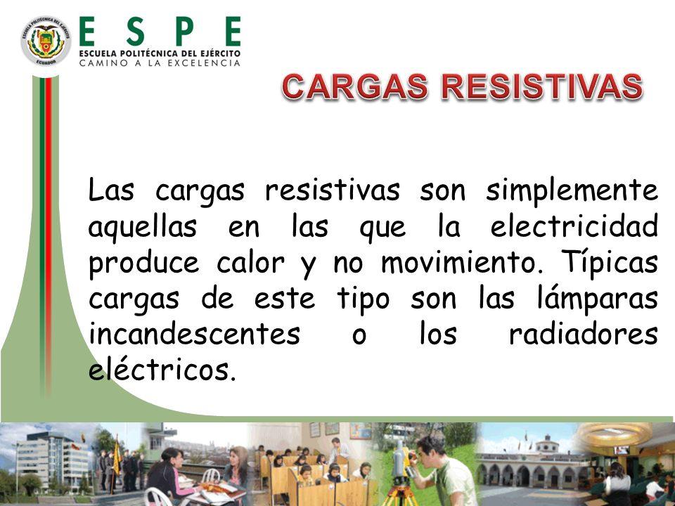 CARGAS RESISTIVAS