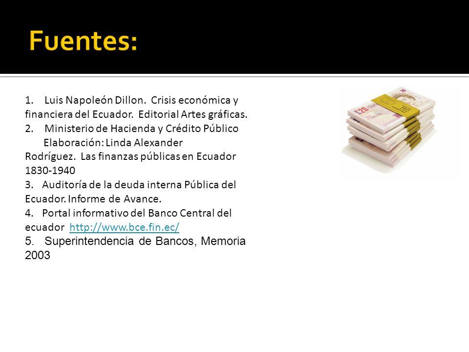 Fuentes: