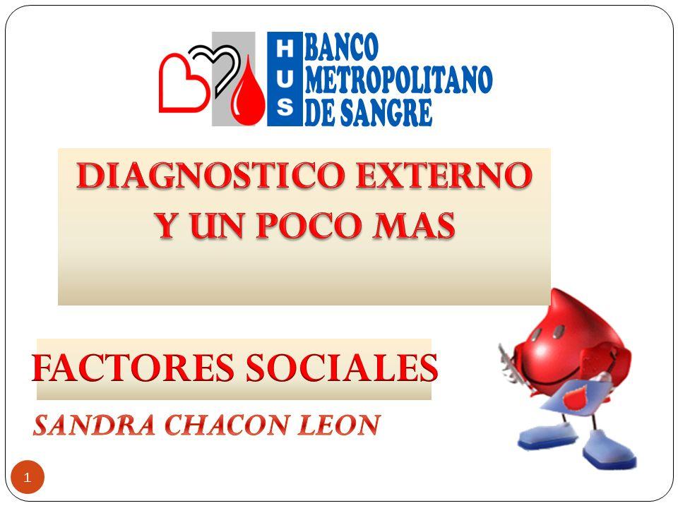 DIAGNOSTICO EXTERNO Y UN POCO MAS