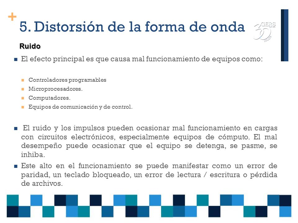 5. Distorsión de la forma de onda