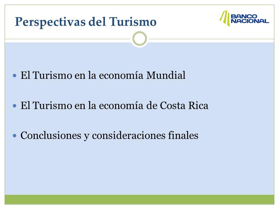 Perspectivas del Turismo