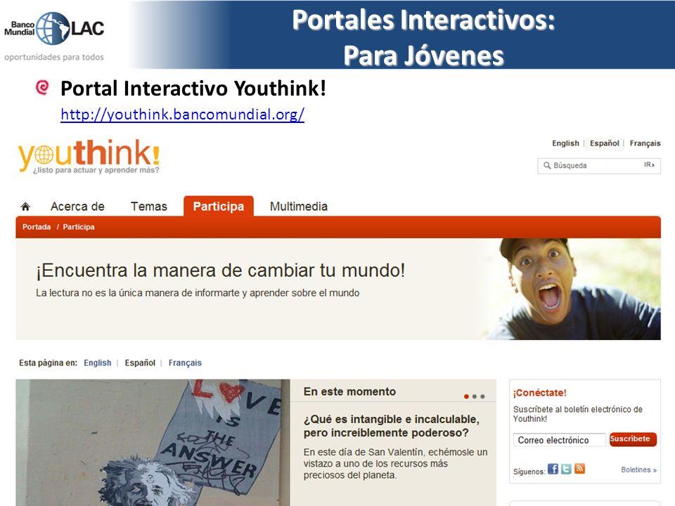 Portales Interactivos: Para Jóvenes