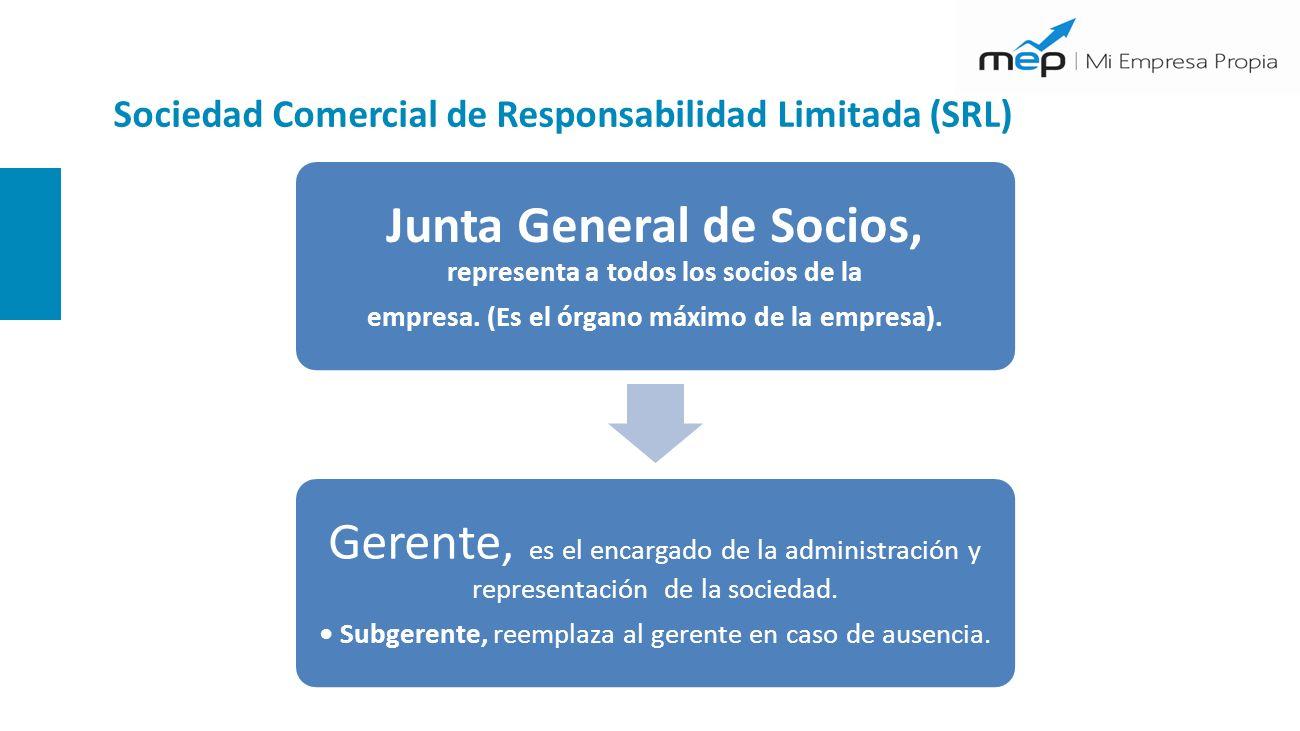 Sociedad Comercial de Responsabilidad Limitada (SRL)