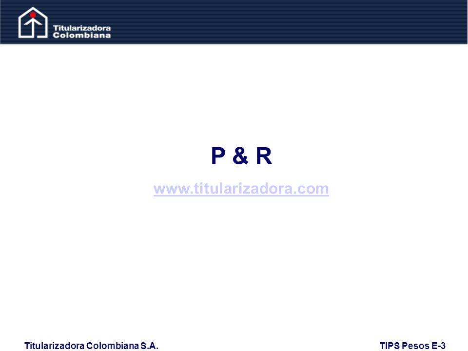 P & R www.titularizadora.com