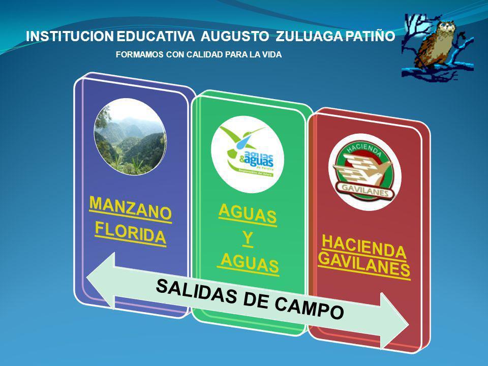 MANZANO FLORIDA AGUAS Y HACIENDA GAVILANES SALIDAS DE CAMPO