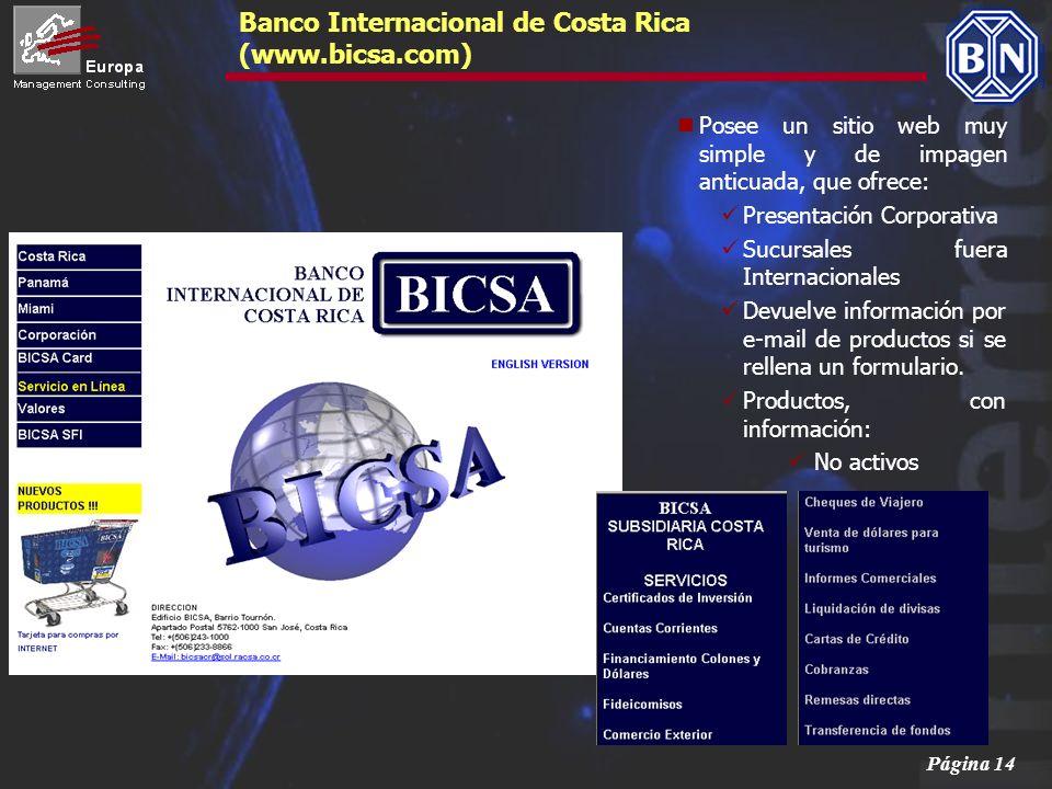 Banco Internacional de Costa Rica (www.bicsa.com)