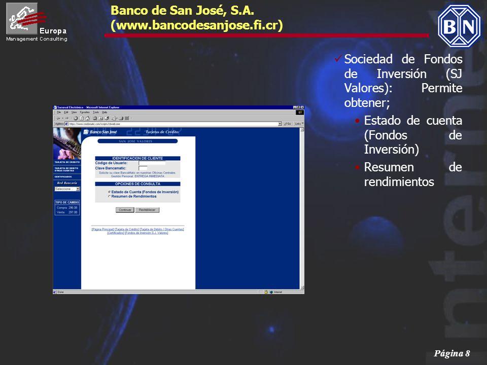 Banco de San José, S.A. (www.bancodesanjose.fi.cr)