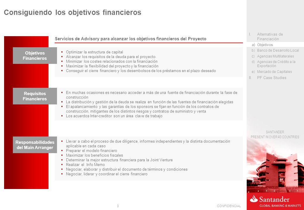 Consiguiendo los objetivos financieros