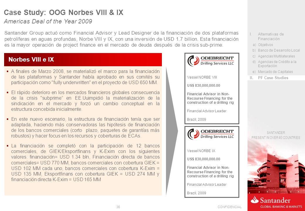 Case Study: OOG Norbes VIII & IX