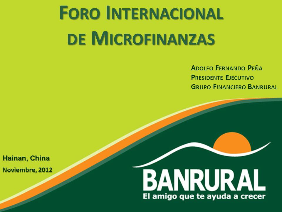 Foro Internacional de Microfinanzas