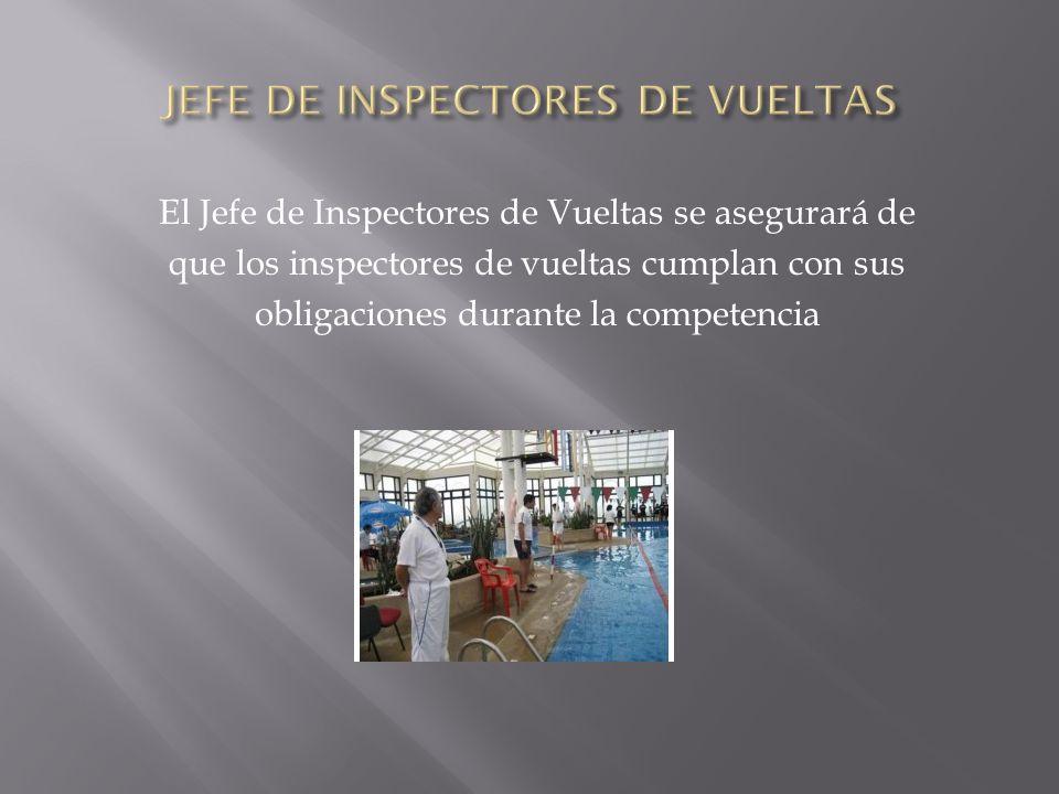 JEFE DE INSPECTORES DE VUELTAS