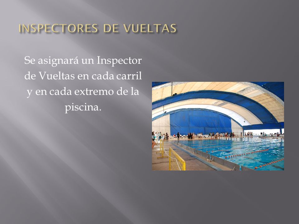 INSPECTORES DE VUELTAS