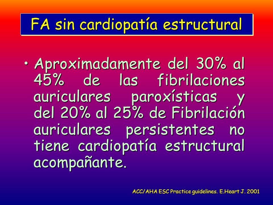 FA sin cardiopatía estructural