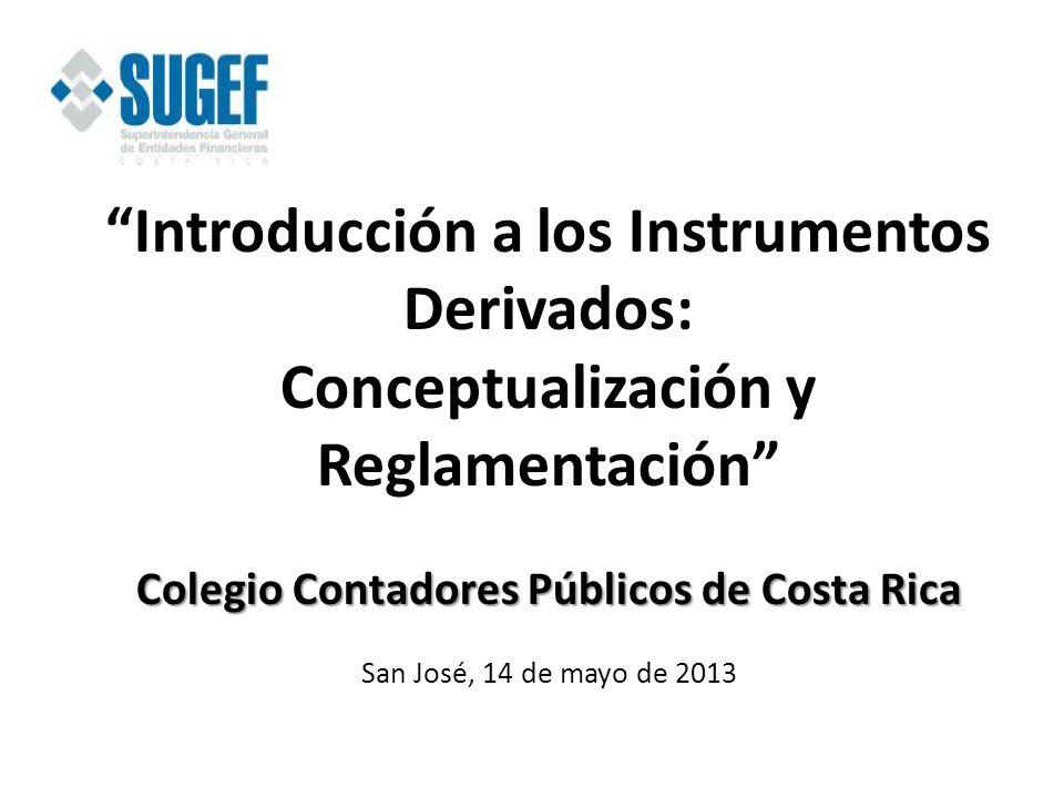 Introducción a los Instrumentos Derivados: