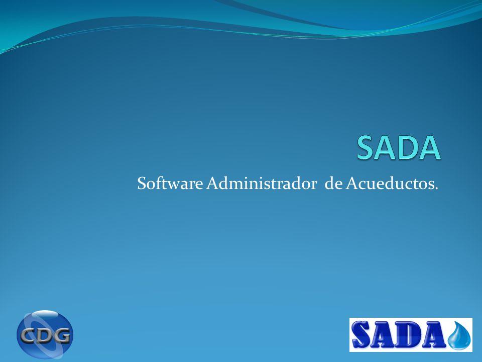 Software Administrador de Acueductos.